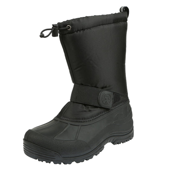 Northside Mens Leavenworth Waterproof Snowboot - Onyx