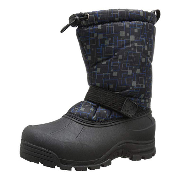 Northside Toddlers Frosty Winter Snow Boot - Black/Blue