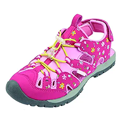 Northside Kids Burke SE Athletic Sandals - Fuchsia/Pink