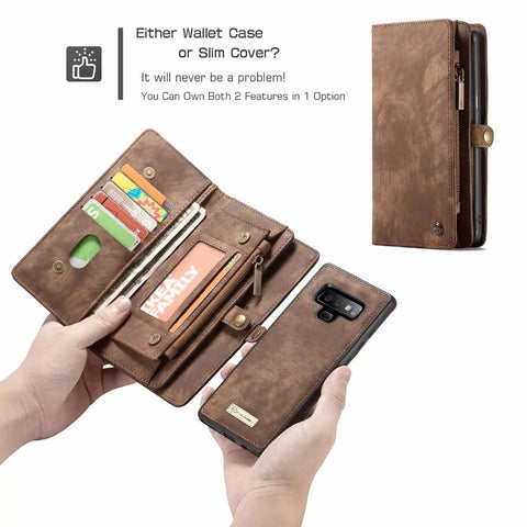 Multifunctional Detachable IPhone Wallet case