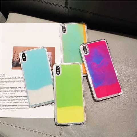 Quicksand Luminous Glow In The Dark iPhone Cases
