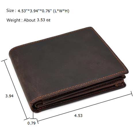 Full Grain Leather Wallet For Men