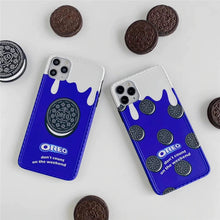 Load image into Gallery viewer, Dilish- Oreo cookie Inspired iPhone Case