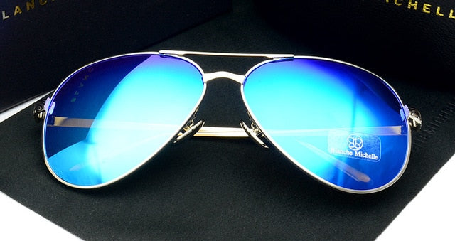 Premium Polarized Pilot Sunglasses For Women with  UV400 Protection
