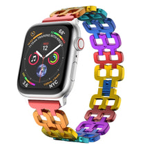 Load image into Gallery viewer, Rainbow Aluminium Alloy Watch band