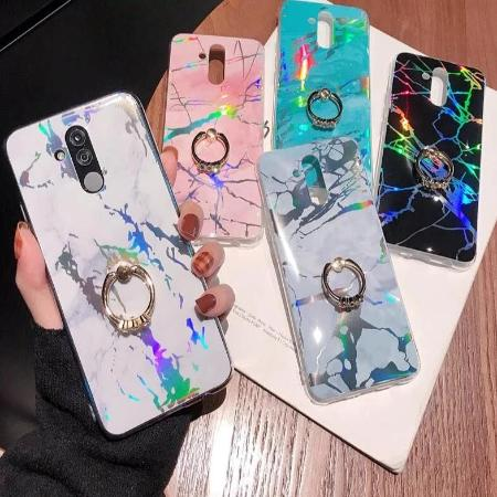 Huawei Marble Holographic Phone case