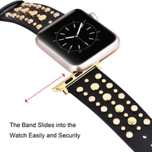 Load image into Gallery viewer, RIVETIE- Apple Watch Replacement Band