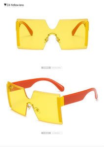 Oversized Square Sunglasses For Women