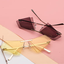 Load image into Gallery viewer, Vintage Triange Double lens Sunglasses for Women