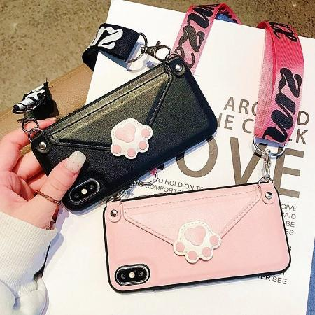 Crossbody Cell Phone Wallet Case For iphone