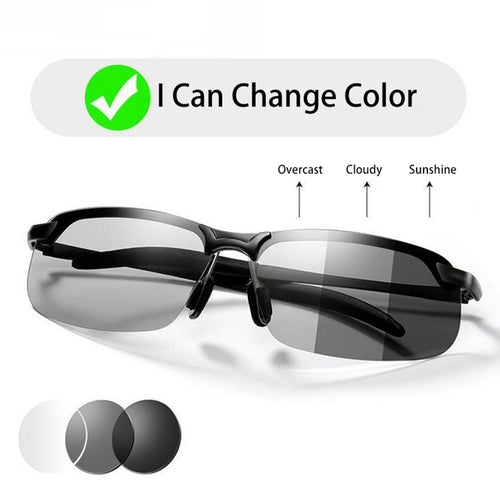 Unisex Photochromic Sunglasses for driving