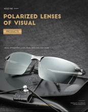 Load image into Gallery viewer, Unisex Photochromic Sunglasses for driving
