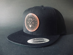 Signature Leather Patch Snapback