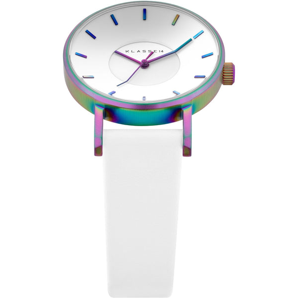 VOLARE RAINBOW White Leather 36MM/42MM