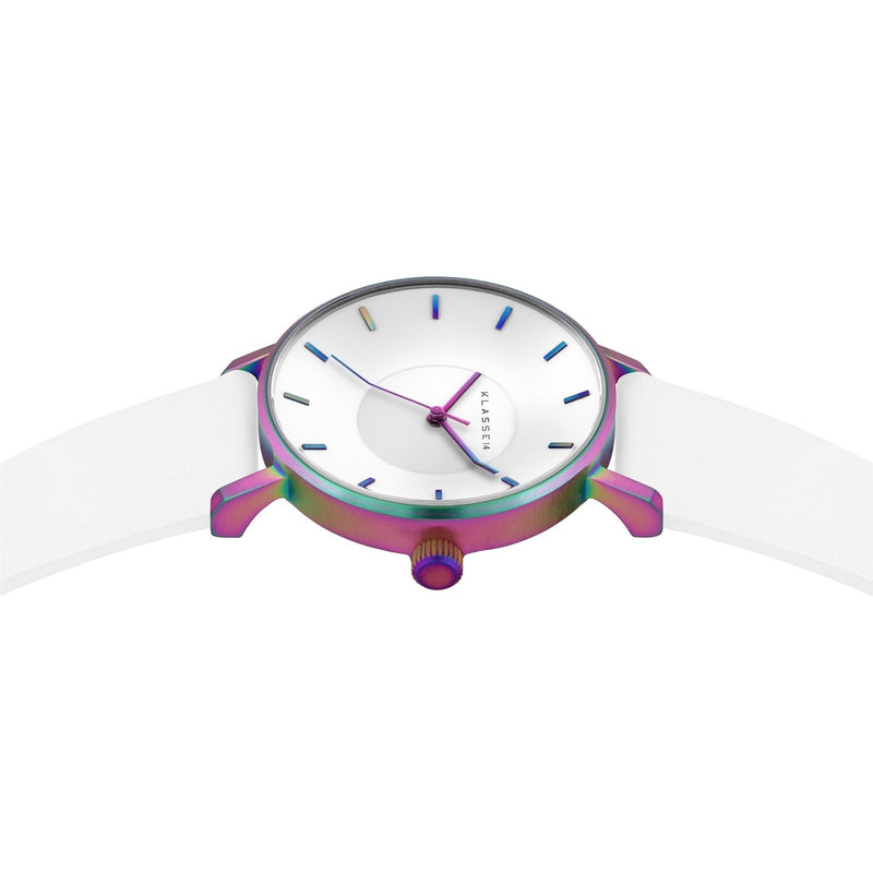 VOLARE RAINBOW White Leather 36MM