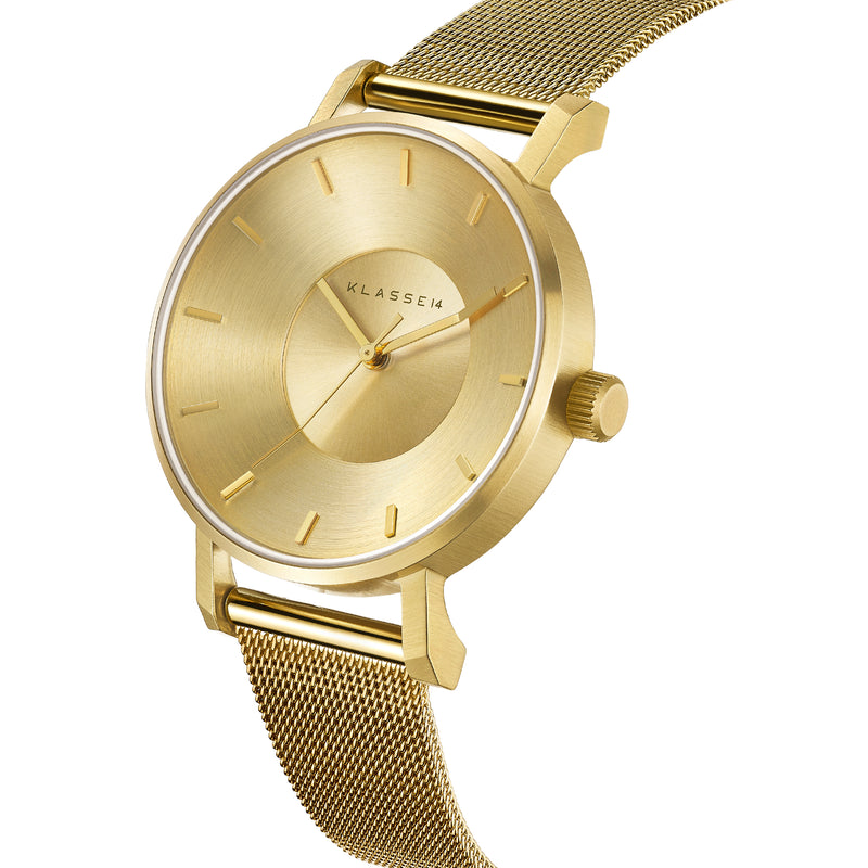 VOLARE CLASSIC Gold Mesh 36MM/42MM