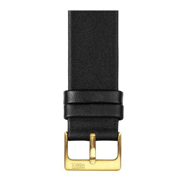 VOLARE Black Strap with Gold Buckle 42MM