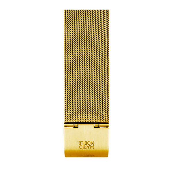 VOLARE Gold Mesh Band 42MM