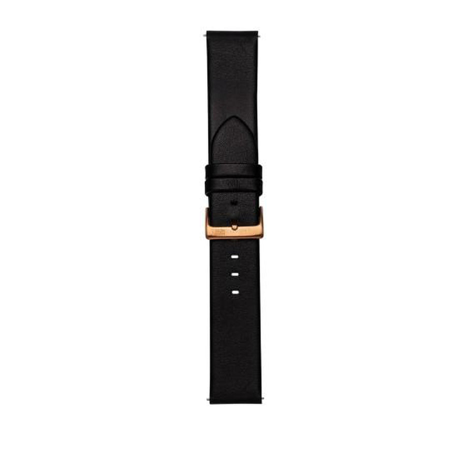 VOLARE Black Strap with Rose Gold Buckle 42MM