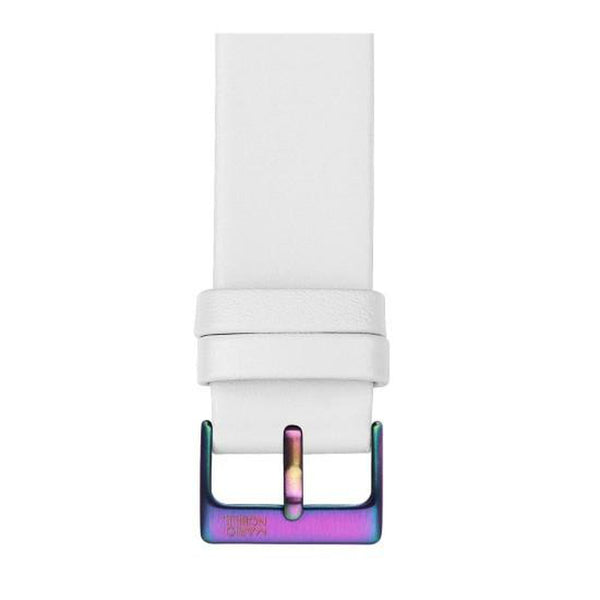 VOLARE White Strap with Rainbow Buckle 42MM