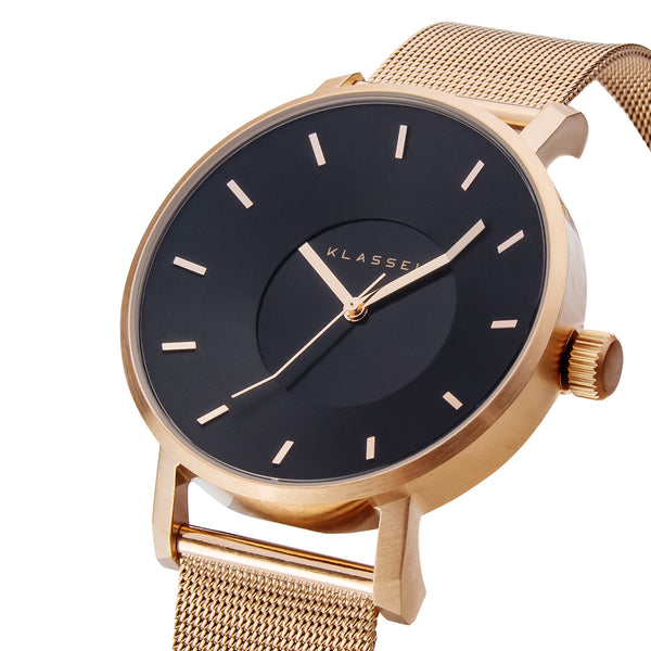 VOLARE CLASSIC Dark Rose/Rose Gold Mesh 36MM/42MM