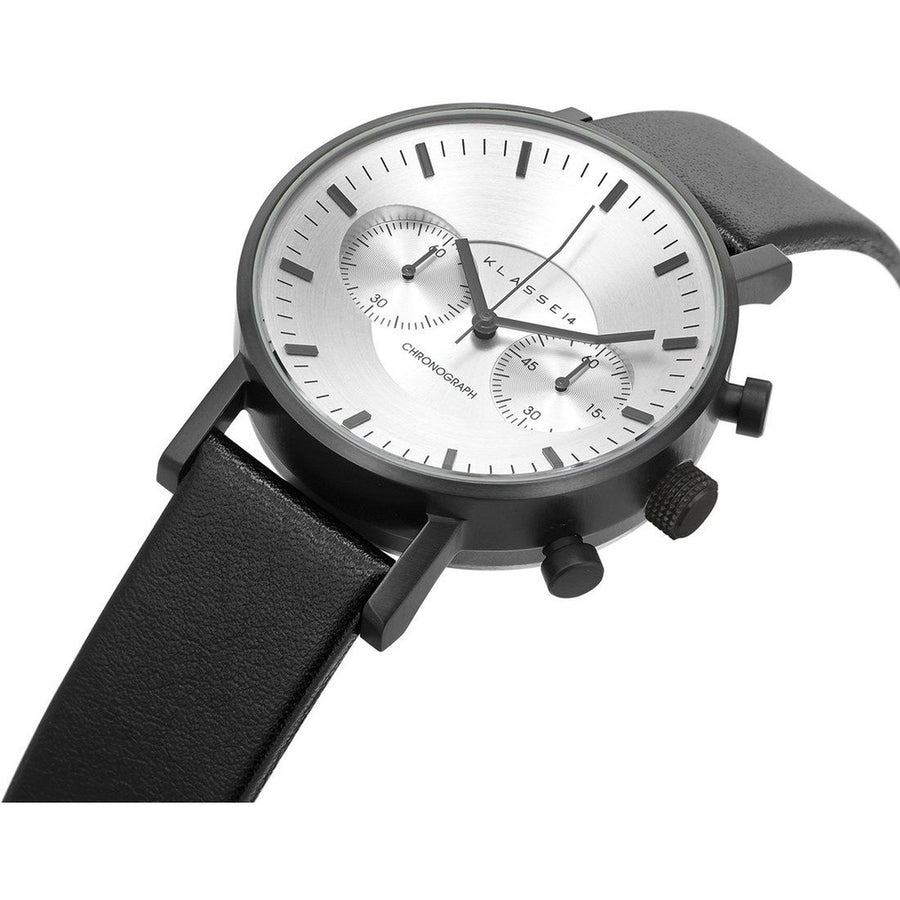VOLARE CHRONOGRAPH Black Leather 42MM