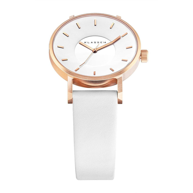 VOLARE White Rose/White Leather 36MM/42MM