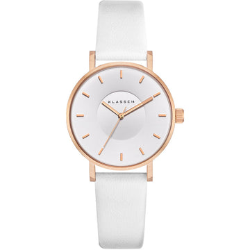 VOLARE White Rose/White Leather 36MM