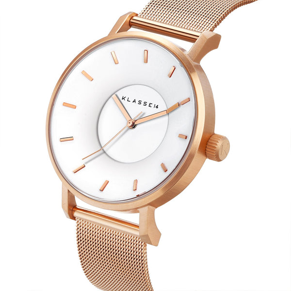 VOLARE White Rose/Rose Gold Mesh 36MM/42MM