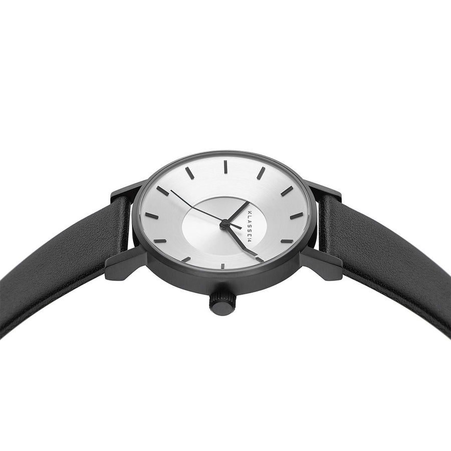 VOLARE CLASSIC Black Leather 36MM