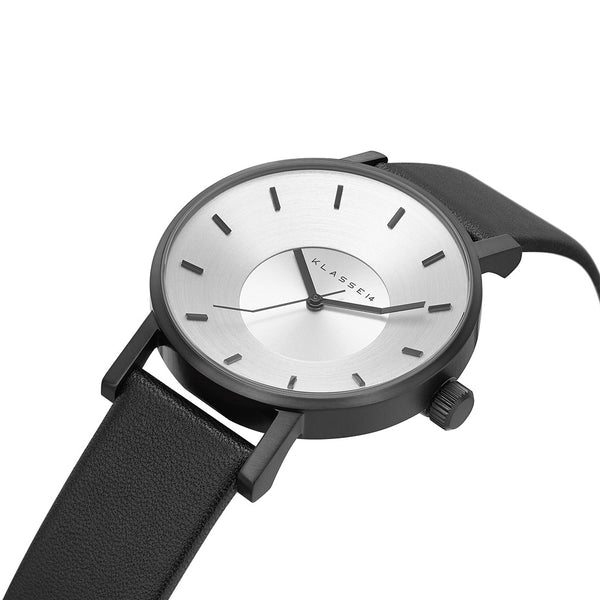 VOLARE CLASSIC Black Leather 36MM/42MM