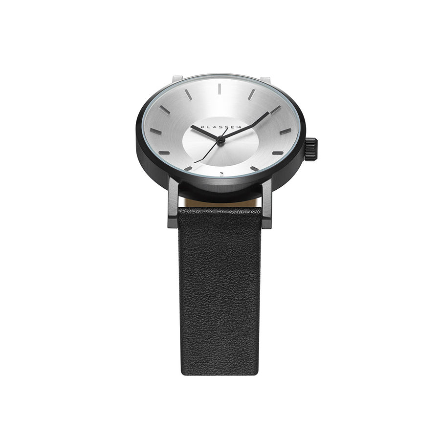 VOLARE CLASSIC Black Leather 42MM