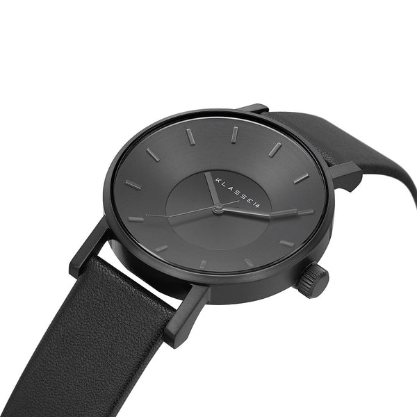 VOLARE CLASSIC Dark/Black Leather 36MM/42MM