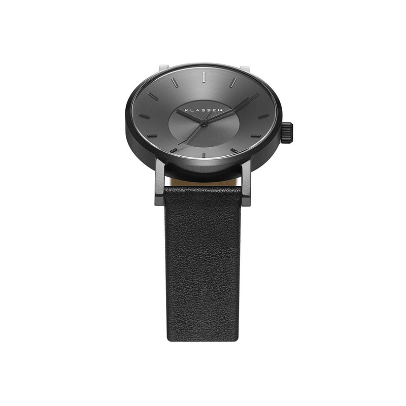 VOLARE CLASSIC Dark/Black Leather 42MM