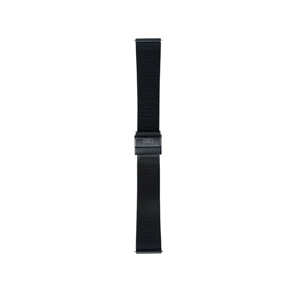 Volare Black Mesh Band/Black Buckle 36MM