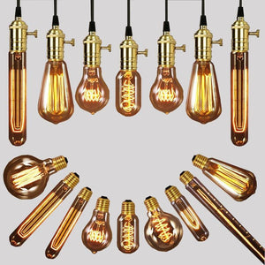 Antique Filament Lights - 16 Designs-The Steampunk Cave