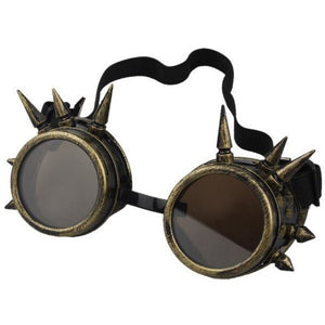 Antique Steampunk Goggles – 5 Color Variants-The Steampunk Cave
