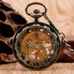 Badass Steampunk Fob Watch-The Steampunk Cave