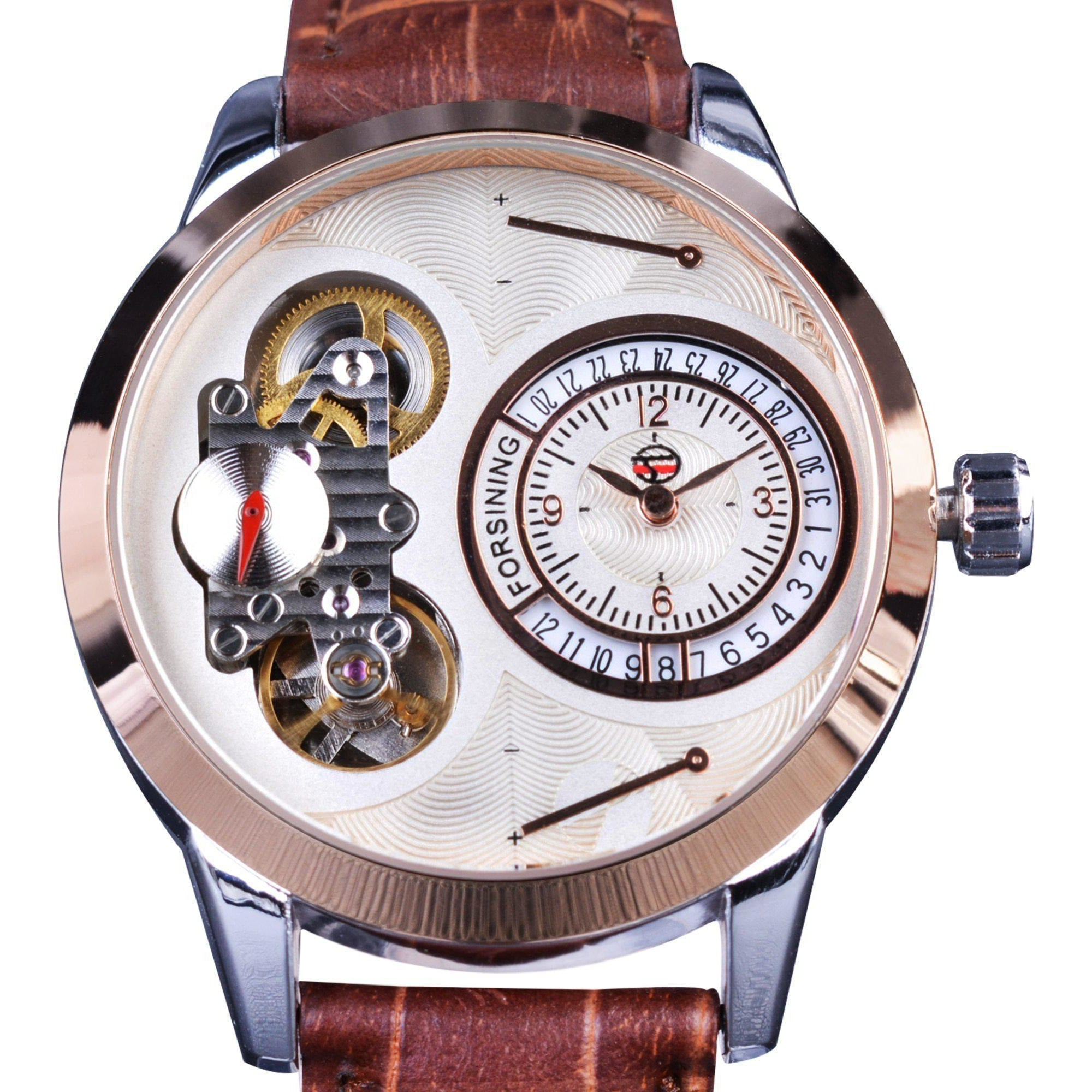 Classic Tourbillon Watch-The Steampunk Cave