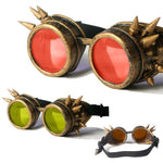 Gothic Goggles – 7 Designs-The Steampunk Cave