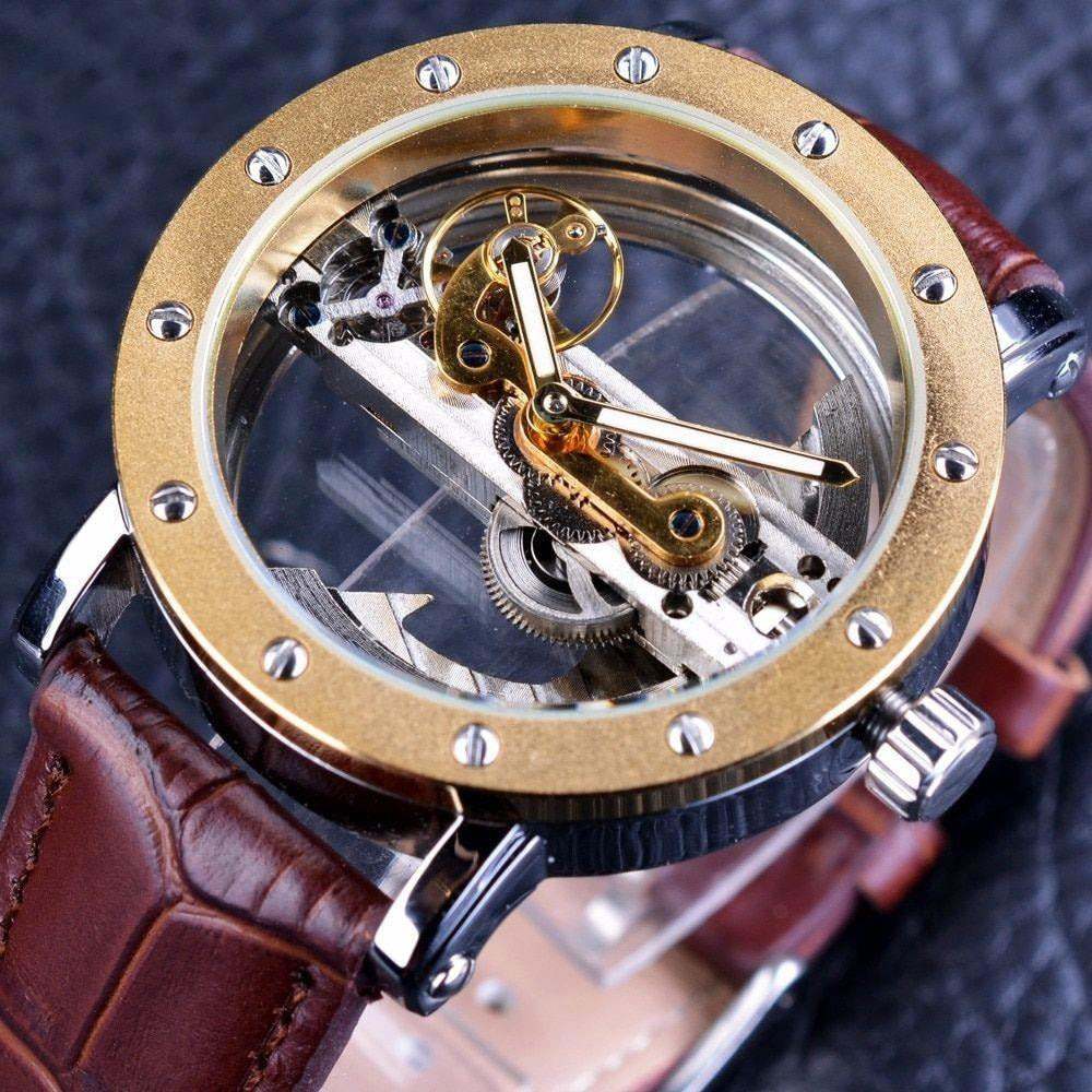 Hollow Steampunk Watch-The Steampunk Cave