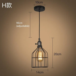 Pendant Light Cage – 9 Designs-The Steampunk Cave