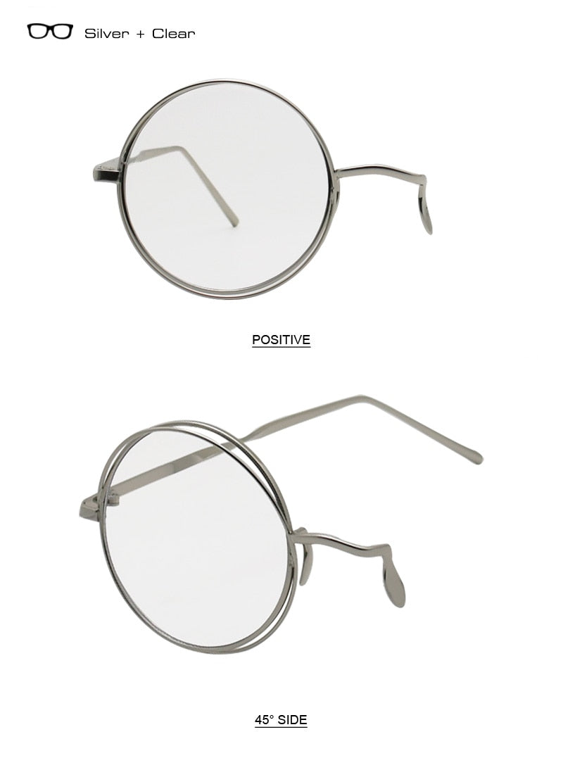Punk Style Half Single Eye Glasses