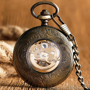 Gears Pocket Watch-The Steampunk Cave