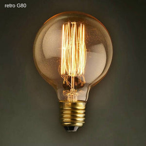 Vintage Edison Light Bulb - 3 Designs