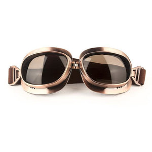 Retro Motorcycle Eyewear - 7 Color Variants-The Steampunk Cave