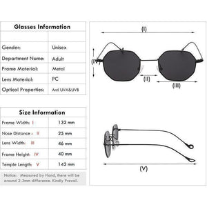 Retro Steampunk Sunglasses - 8 Color Variants-The Steampunk Cave