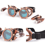 Steampunk Goggles – 2 Color Variants-The Steampunk Cave
