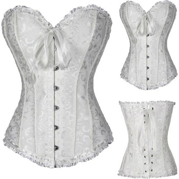 Steampunk Overbust Corset – 11 Designs-The Steampunk Cave