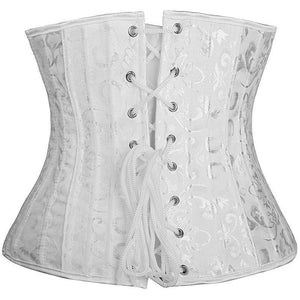 Steel Boned Underbust Corset - 4 Designs-The Steampunk Cave